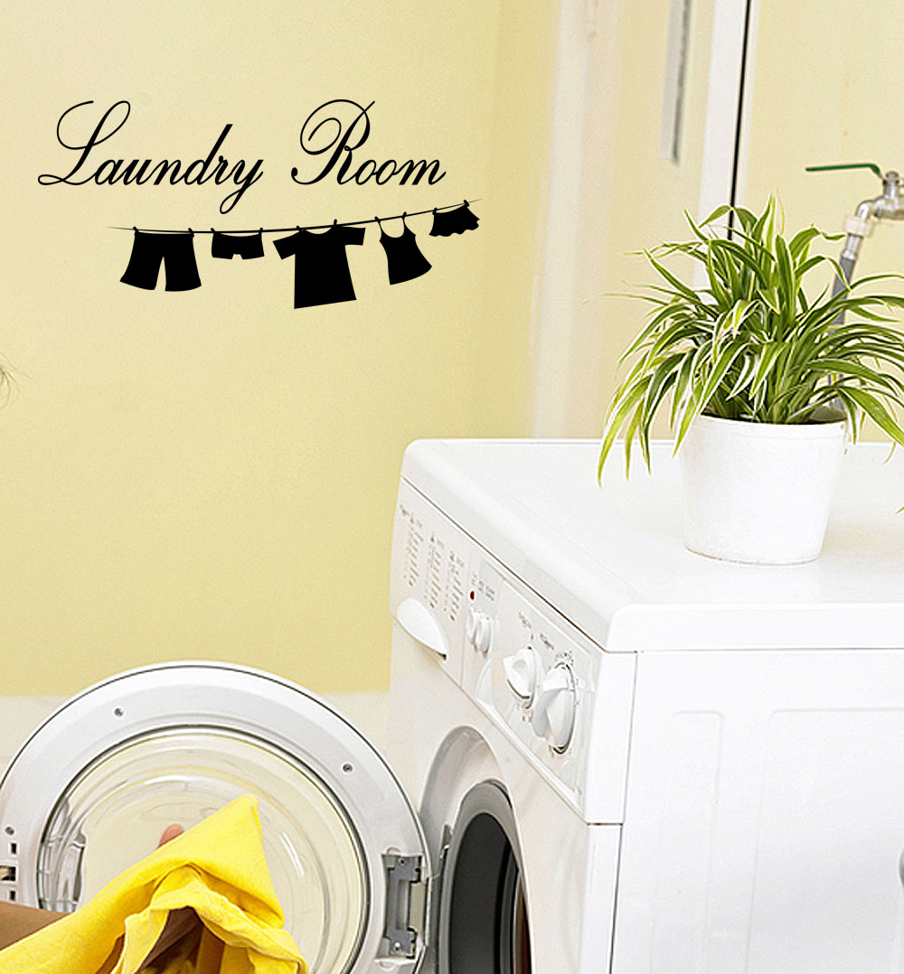 Laundry Room Vinyl Wall Art - Elitflat