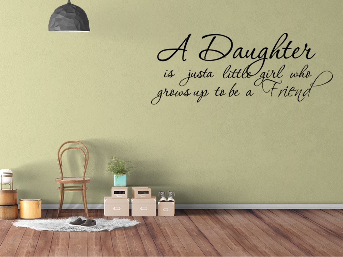 wall decal nursery decal quote friend vinyl wall quote decal home ebay
